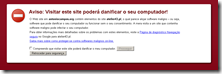 PrtSc Aviso do Chrome