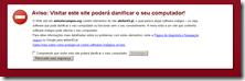 PrtSc Aviso do Chrome